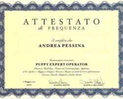 Attestato - Puppy Expert Operator
